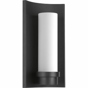 Best René 1-Light Outdoor Wall Sconce By Latitude Run