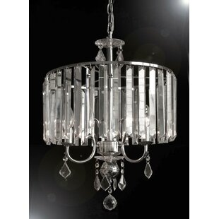 Harrison Lane 3-Light Crystal Chandelier