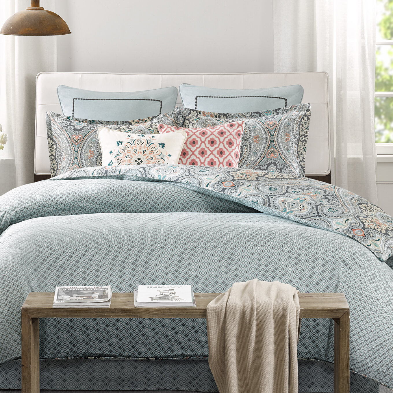 Echo Design Sterling Reversible Comforter Set Reviews Wayfair