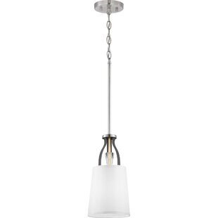 Alidade 1-Light Cylinder Pendant by Wrought Studio