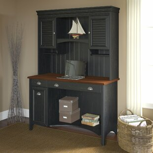 Look for Carroll Computer Desk with Hutch by Darby Home Co