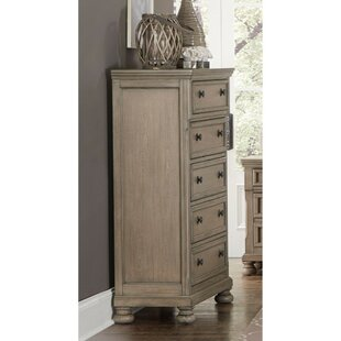 Ayana Wooden 5 Drawer Lingerie Chest by One Allium Way