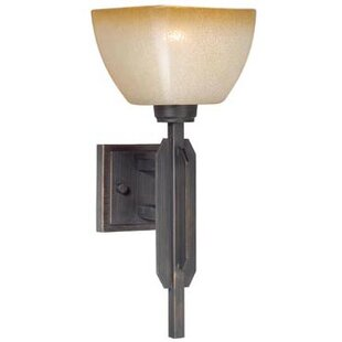Aanya 1-Light Bath Sconce by Millwood Pines