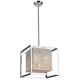 Orren Ellis Kasia 5-Light Square/Rectangle Chandelier