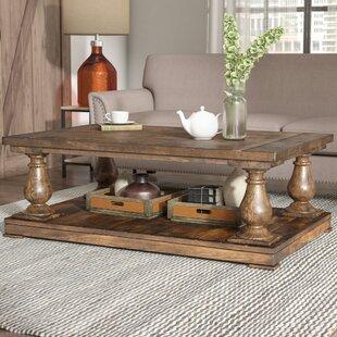 Laurel Foundry Modern Farmhouse Gladiola 3 Piece Coffee Table Set