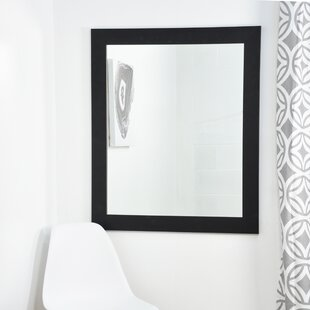 Clic Black Entry Way Wall Mirror