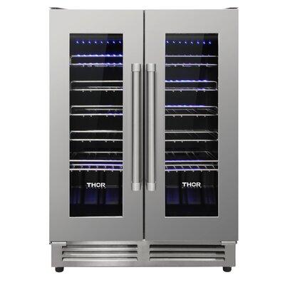 Thor Kitchen 42 Bottle Dual Zone Freestanding Wine Cooler