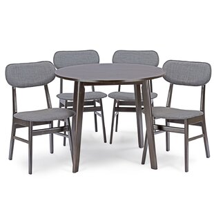 Hern 5 Piece Dining Set George Oliver