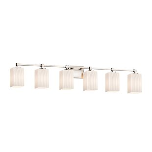 Brayden Studio Jacobsen Contemporary 6-Light Vanity Light