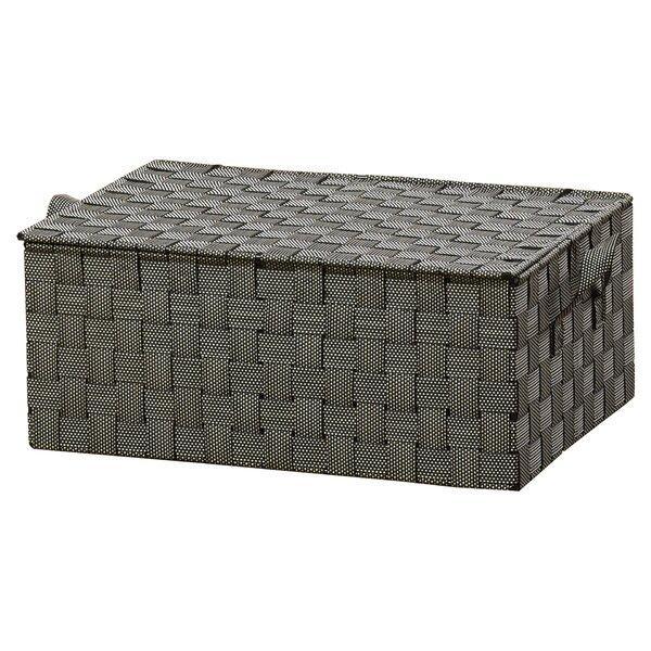 Wildon Home ® Hinged Lid Woven Storage Box U0026 Reviews | Wayfair
