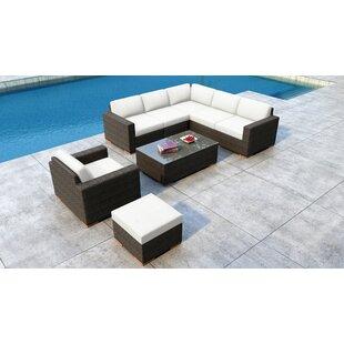 Glen Ellyn 8 Piece Sectional Set with Sunbrella Cushion by Everly Quinn