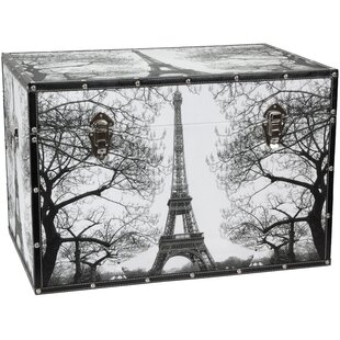 Paris Storage Trunk by Oriental Furniture