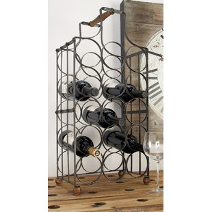 Wine rack table Bistro 15 Bottle Tabletop Wine Rack Pickman Decors Console Table With Wine Rack Wayfair