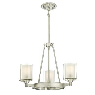 Johns Indoor 3-Light Shaded Chandelier by Darby Home Co