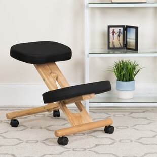 Wolfson Height Adjustable Kneeling Chair with Dual Wheel