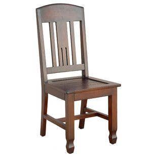 Casual Elements Phillip Solid Wood Dining Chair (Set of 2)
