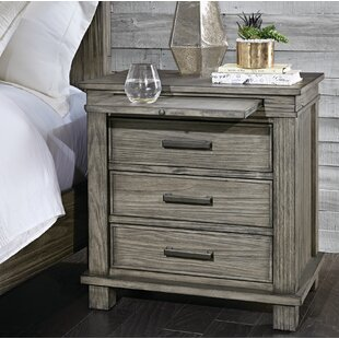 Sayler 3 Drawer Nightstand