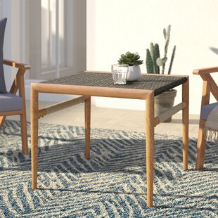 Natale Resin Wicker Side Table