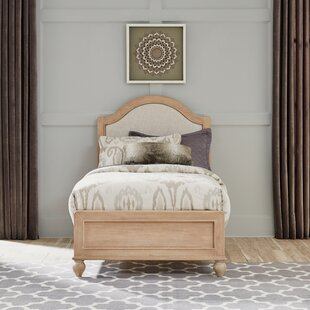 Jerkins Upholstered Panel Bed by Alcott Hill
