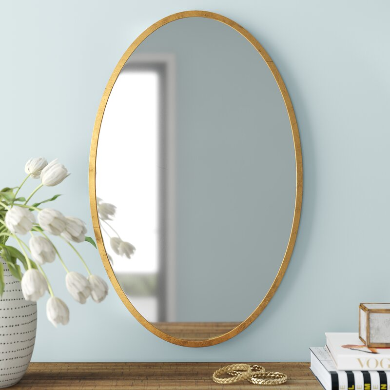 Joss Main Cleeve Modern Contemporary Beveled Accent Mirror Reviews Wayfair