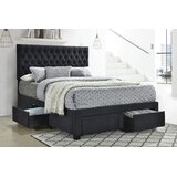 Journey Tufted Upholstered Storage Platform Bed by Latitude Run®