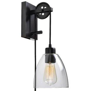 Andover Mills Cyrus 1-Light Plug-In Swing Arm