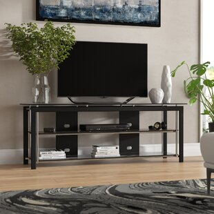 Bargain Topper TV Stand for TVs up to 70 by Ebern Designs Reviews (2019) & Buyer's Guide