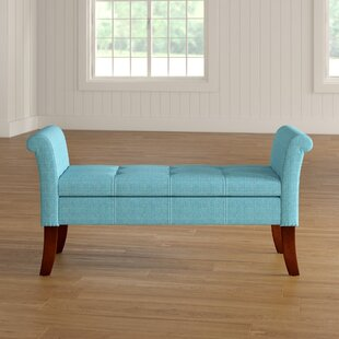 Keziah Rolled Arm Upholstered Storage Bench