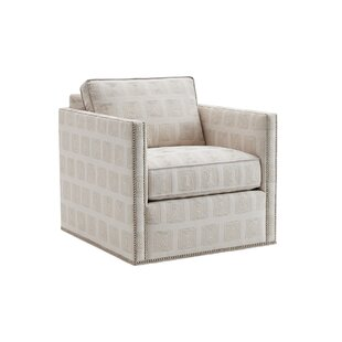 Kitano Swivel Armchair by Lexington