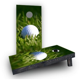 Custom Cornhole Boards Golf Ball Cornhole Boards (Set of 2)