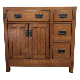 Bargain American Craftsman 36 Bathroom Vanity Base Only BySagehill Designs
