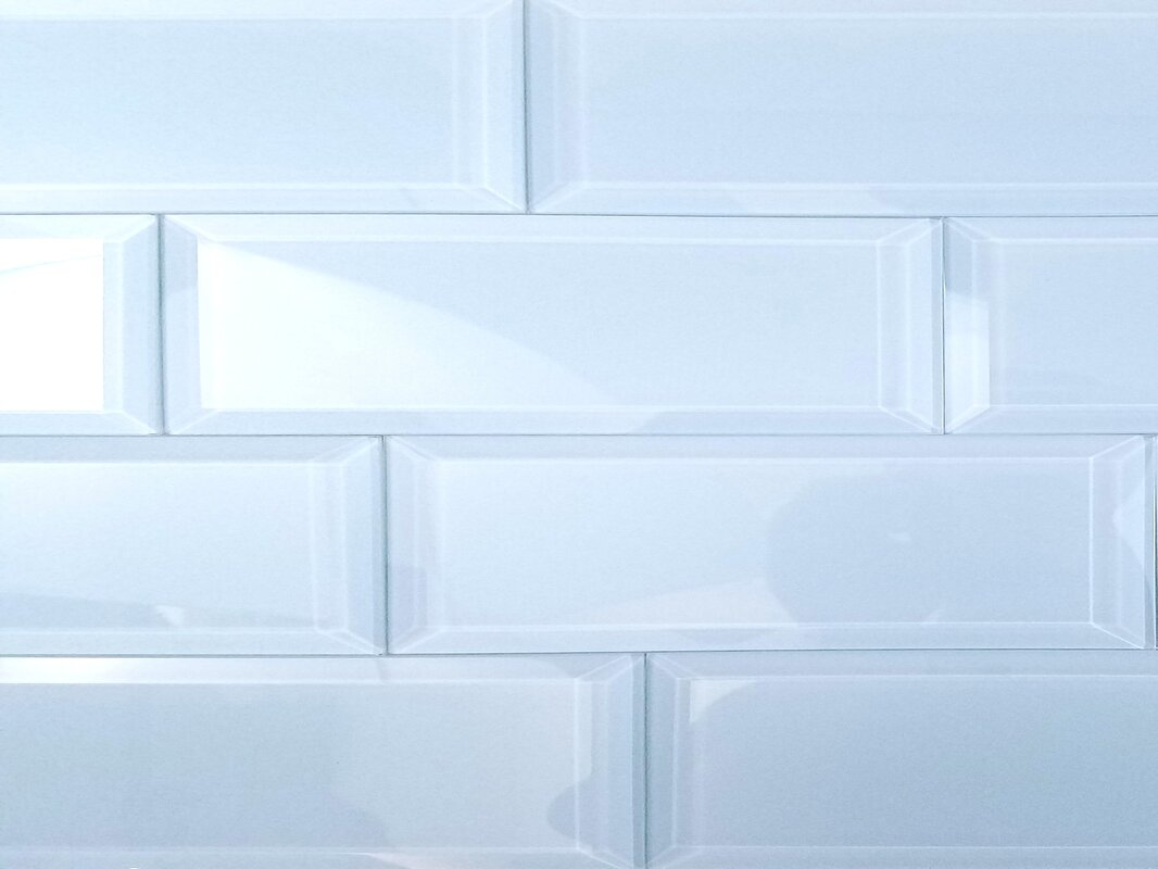 Abolos Frosted Elegance 3 X 12 Gl Subway Tile In Glossy Blue