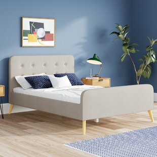 Canchola Upholstered Bed Frame By Hashtag Home