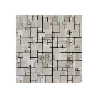 Andova Cimarron Natural Stone Mosaic Pattern Floor Use Tile Wayfair