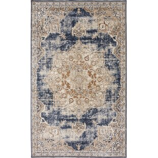 Inexpensive Abbeville Power Loom Dark Blue Area Rug By Laurel Foundry Modern Farmhouse