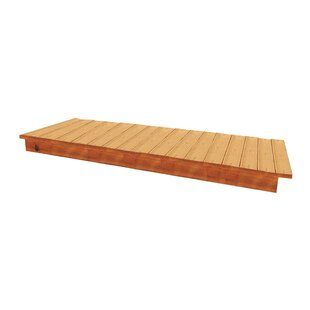 Phoenix 3' H x 8' W x 3' D Combination Cedar Bench by Handy Home