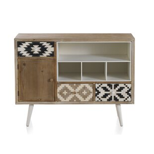 Cotta 3 Drawer Combi Chest By Bloomsbury Market