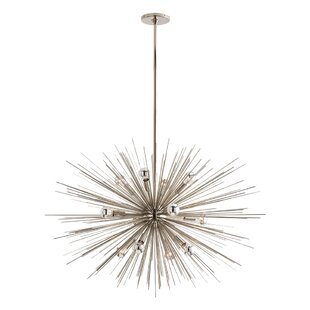 ARTERIORS Zanadoo Gold 12-Light Sputnik Chandelier