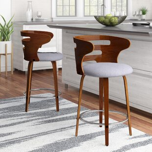 Baehr Swivel Bar And Counter Stool (Set Of 2) Top Reviews