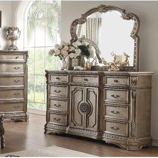 Leanos 9 Drawer Combo Dresser by Rosdorf Park