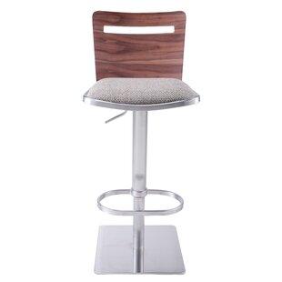 Brilliant Wade Logan Catina Modern Adjustable Height Swivel Bar Stool Cjindustries Chair Design For Home Cjindustriesco