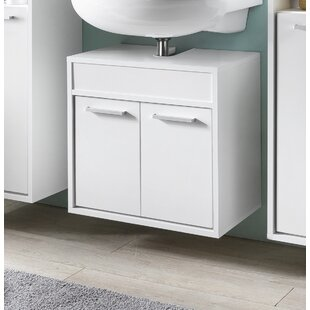 Graddy 57cm Wall Mounted Under Sink Storage Unit By Brayden Studio