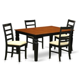 Celina 5 Piece Dining Set by Red Barrel S..