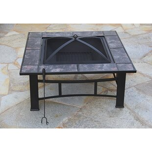 Fire Pit Essentials Steel Wood Burning Fire Pit Table