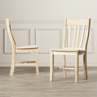 Toby Traditional Solid Wood Dining Chair (Set Of 2) by August Grove Bargain