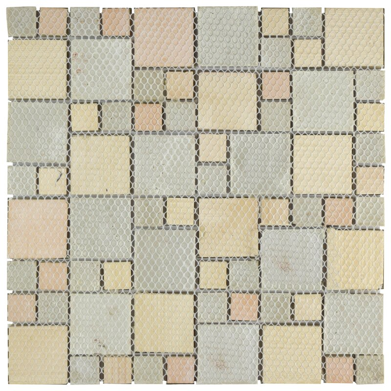 EliteTile Vulcan X Ceramic Mosaic Tile In Copper - Daltile livermore