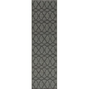 Halliday Charcoal Indoor/Outdoor Area Rug