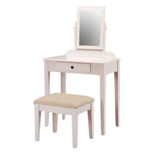 White Vanity Tables You\'ll Love | Wayfair