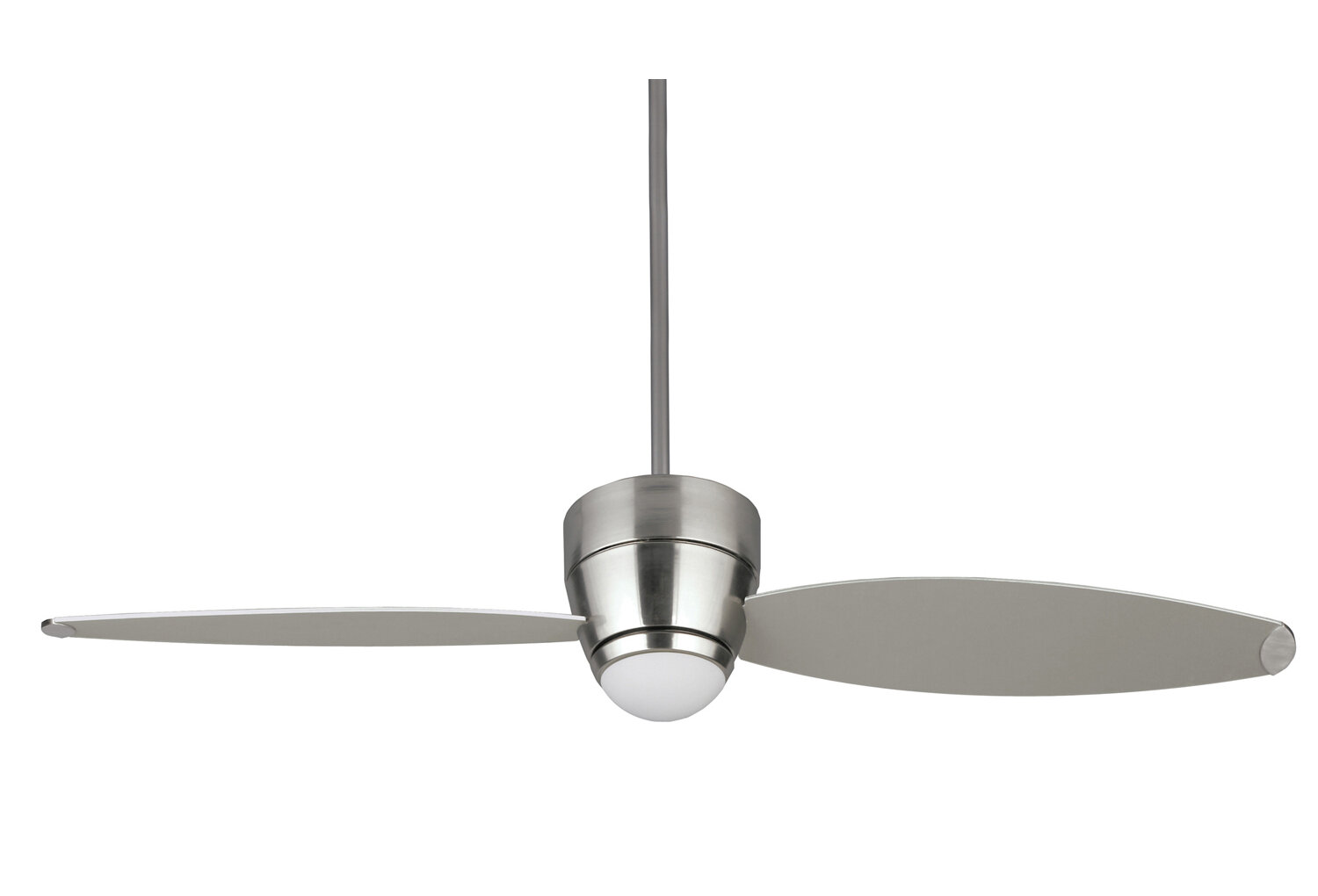 Ivy Bronx 54 Michalski 2 Blade Outdoor Standard Ceiling Fan With Remote Control And Light Kit Included Wayfair