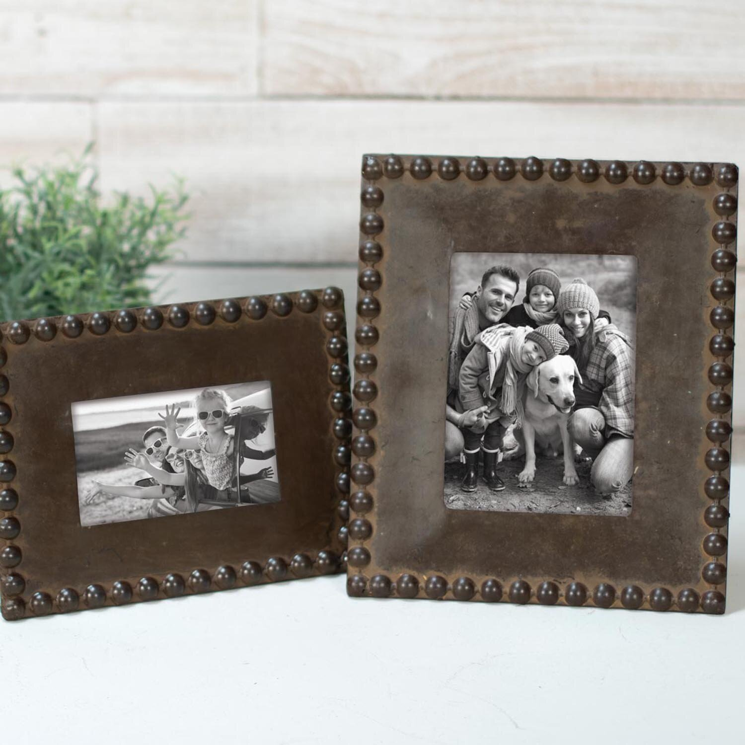 Union Rustic Petree Beaded Picture Frame Reviews Wayfair